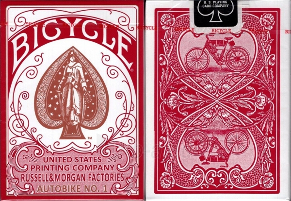 Kortos Bicycle AutoBike No. 1 (Raudonos) Paveikslėlis 1 iš 2 310820142785