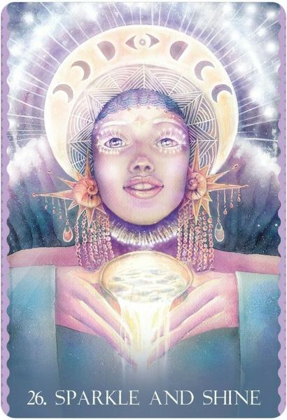 Kortos Cosmic Dancer Oracle Kortos Paveikslėlis 4 iš 6 310820223897
