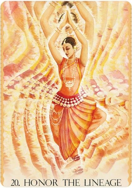Kortos Cosmic Dancer Oracle Kortos Paveikslėlis 5 iš 6 310820223897