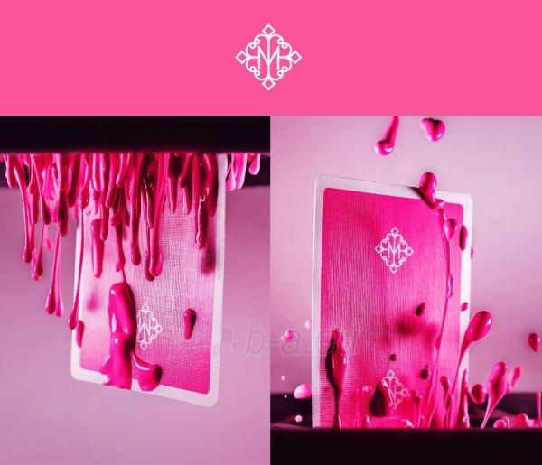 Kortos Ellusionist Madison Rounders Pink Bicycle Paveikslėlis 3 iš 8 310820159980