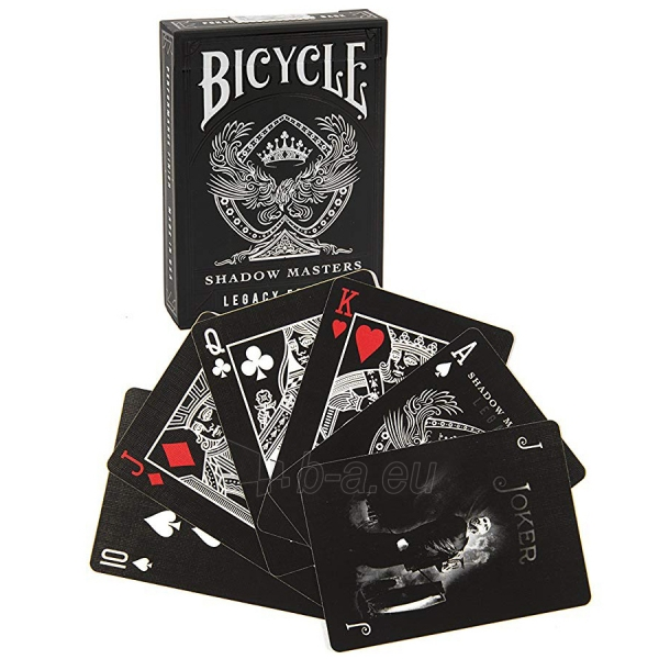 Kortos Ellusionist Shadow Masters Legacy Bicycle Paveikslėlis 3 iš 3 310820217296