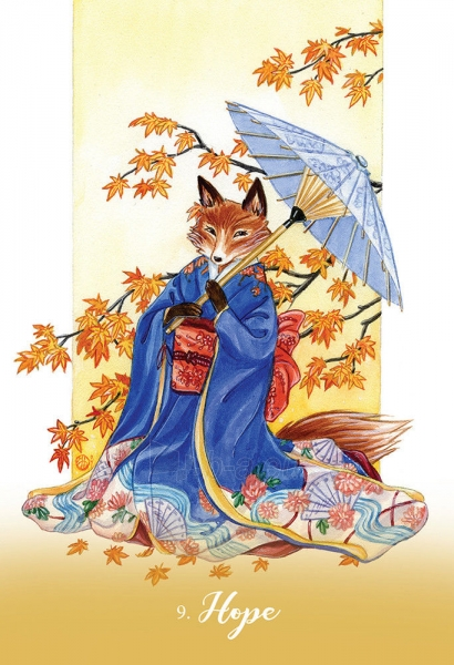 Kortos Foxfire: The Kitsune Oracle Paveikslėlis 3 iš 6 310820160481
