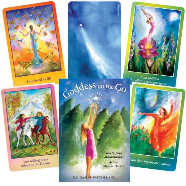 Kortos Inspiration Goddess On The Go Paveikslėlis 2 iš 11 310820142569