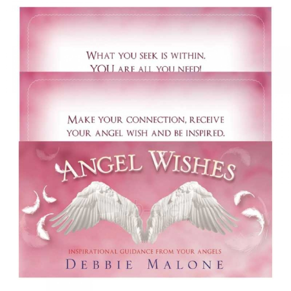Kortos Inspirational Angel Wishes Paveikslėlis 7 iš 9 310820142720