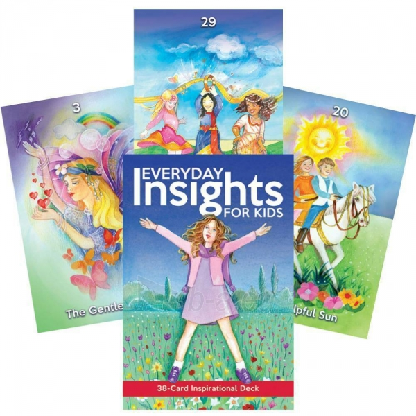 Kortos Inspirational Everyday Insights For Kids Paveikslėlis 1 iš 6 310820217318