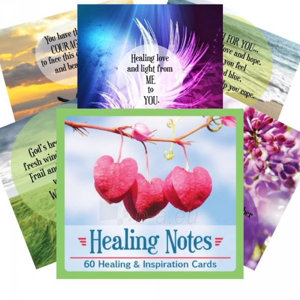Kortos Inspirational Healing Notes Paveikslėlis 2 iš 6 310820217316