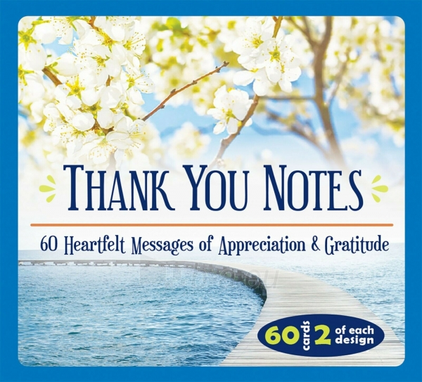 Kortos Inspirational Thank You Notes Paveikslėlis 3 iš 6 310820217317
