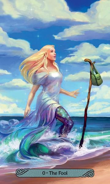 Kortos Mermaid Taro Paveikslėlis 5 iš 8 310820194532