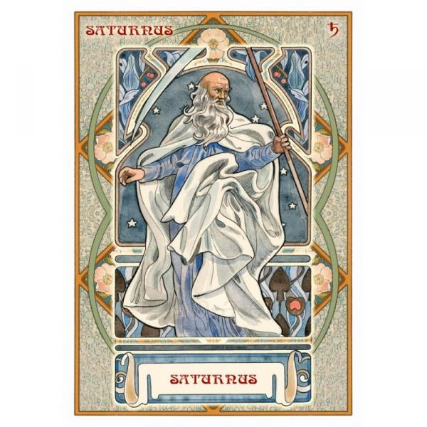 Kortos Oracle Astrological Paveikslėlis 3 iš 7 310820159905