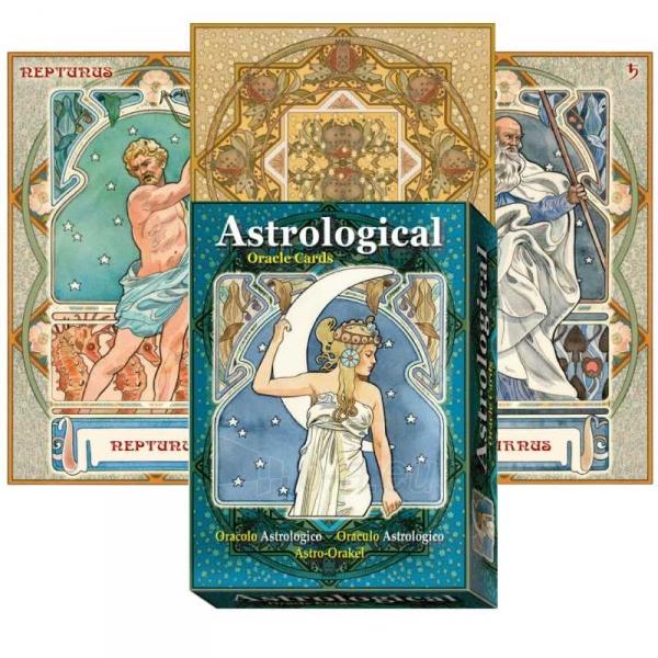 Kortos Oracle Astrological Paveikslėlis 6 iš 7 310820159905