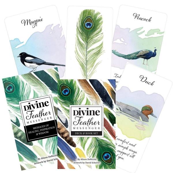 Kortos Oracle Divine Feather Paveikslėlis 11 iš 11 310820173447