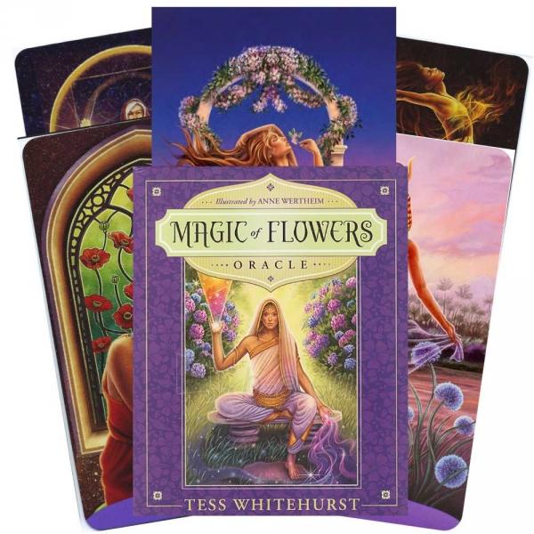 Kortos Oracle Kortos Magic Of Flowers Paveikslėlis 1 iš 8 310820142857