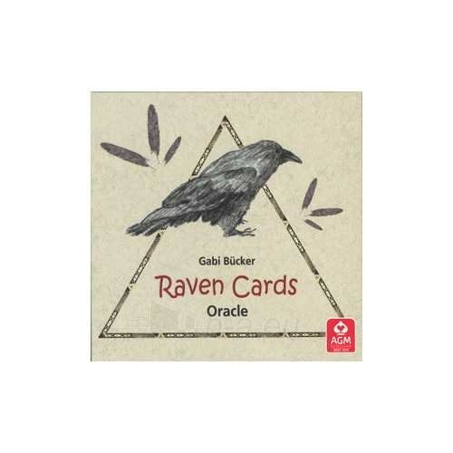 Kortos Oracle Kortos Raven Paveikslėlis 3 iš 5 310820142794