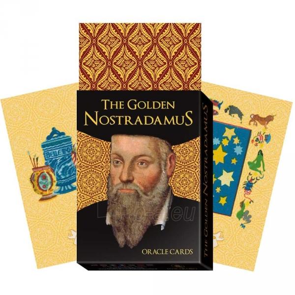 Kortos Oracle Kortos The Golden Nostradamus Paveikslėlis 3 iš 7 310820142796