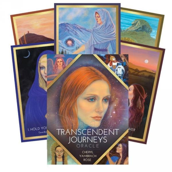 Kortos Oracle Kortos Transcendent Journeys Paveikslėlis 1 iš 6 310820217321