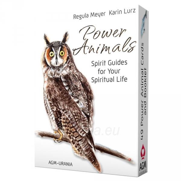Kortos Power Animals Paveikslėlis 6 iš 6 310820142766