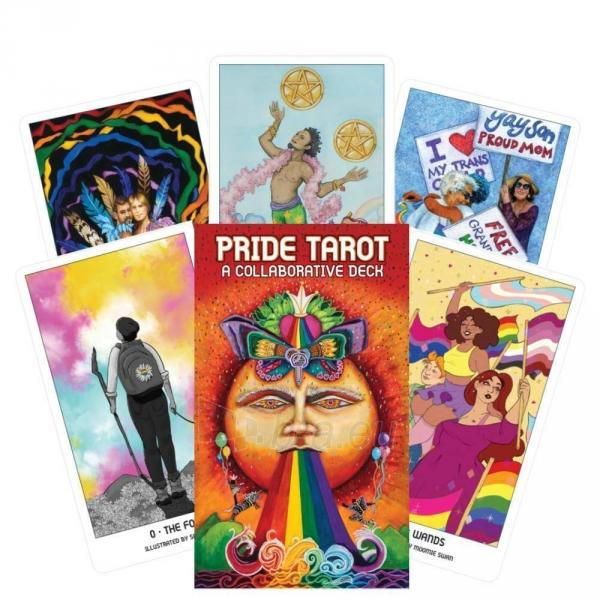 Kortos Pride Tarot Kortos Paveikslėlis 2 iš 6 310820217319