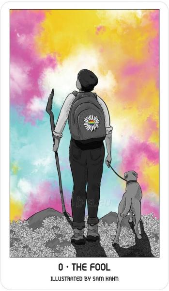 Kortos Pride Tarot Kortos Paveikslėlis 6 iš 6 310820217319