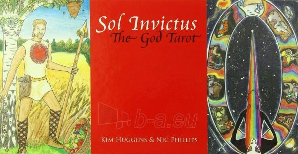 Kortos Sol Invictus: The God Tarot Paveikslėlis 4 iš 7 310820217259