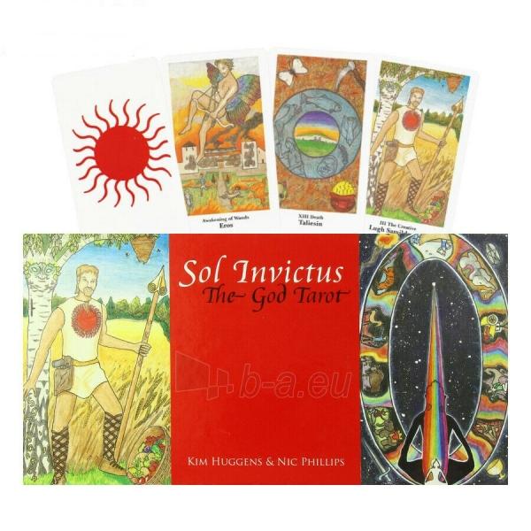 Kortos Sol Invictus: The God Tarot Paveikslėlis 6 iš 7 310820217259