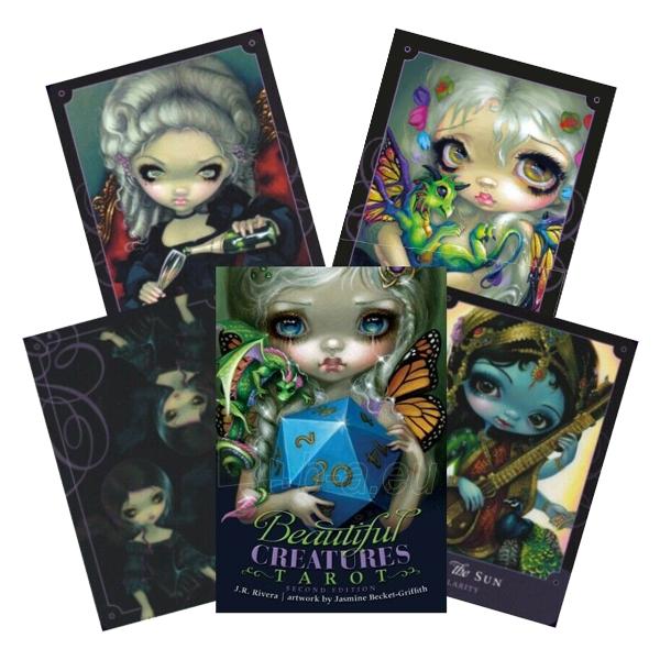 Kortos Taro Beautiful Creatures Tarot 2 Paveikslėlis 4 iš 9 310820217194