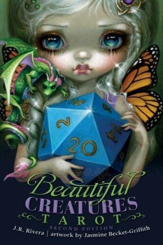 Kortos Taro Beautiful Creatures Tarot 2 Paveikslėlis 7 iš 9 310820217194