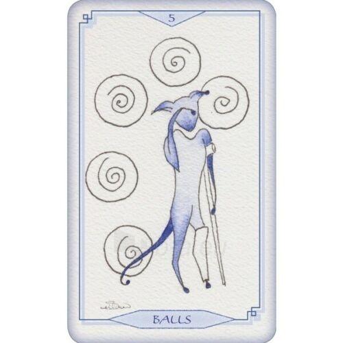 Kortos Taro Bleu Cat Tarot Paveikslėlis 2 iš 6 310820217234