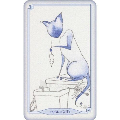 Kortos Taro Bleu Cat Tarot Paveikslėlis 3 iš 6 310820217234