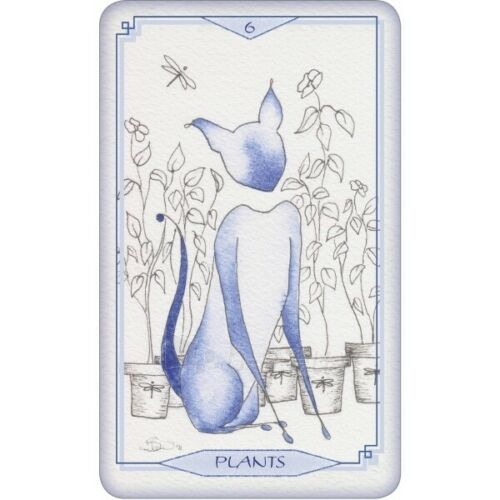 Kortos Taro Bleu Cat Tarot Paveikslėlis 5 iš 6 310820217234