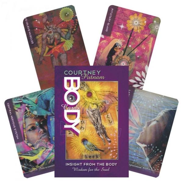 Kortos Taro Body Cards Paveikslėlis 10 iš 10 310820217253