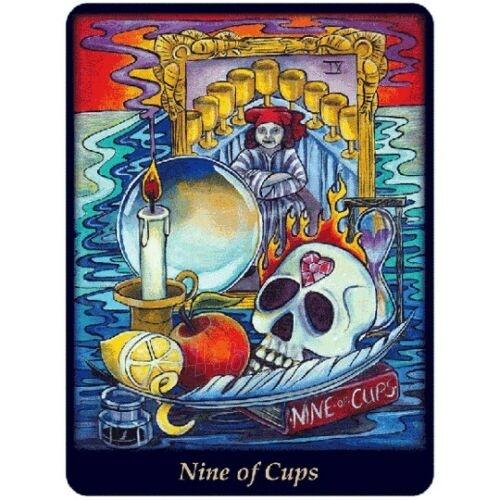 Kortos Taro Bonefire Tarot Paveikslėlis 2 iš 9 310820217213