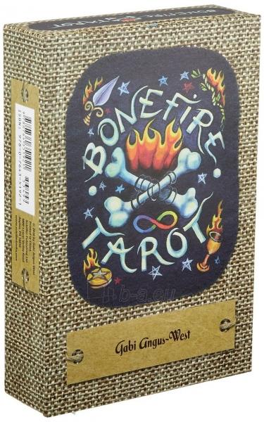 Kortos Taro Bonefire Tarot Paveikslėlis 7 iš 9 310820217213