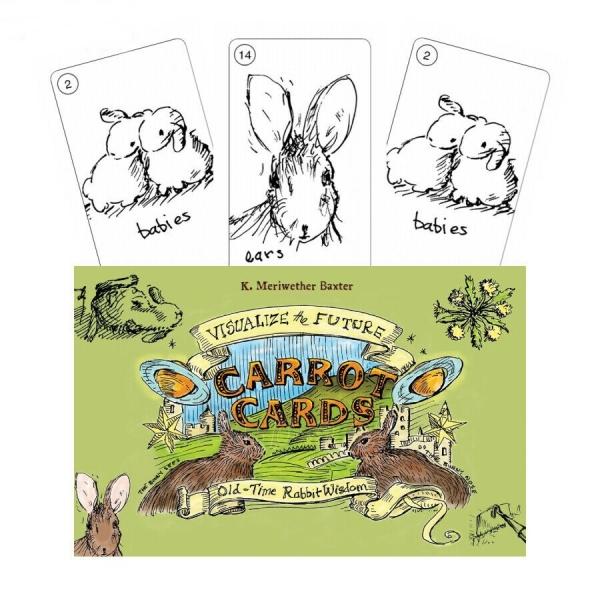 Kortos Taro Carrot Cards Paveikslėlis 8 iš 8 310820217250
