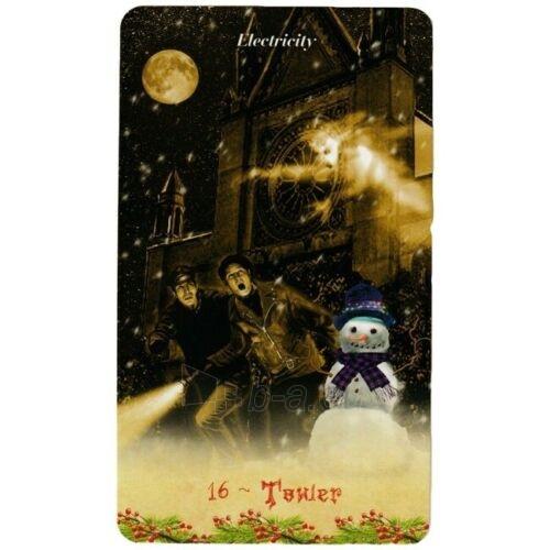 Kortos Taro Christmas Tarot Paveikslėlis 2 iš 9 310820217220