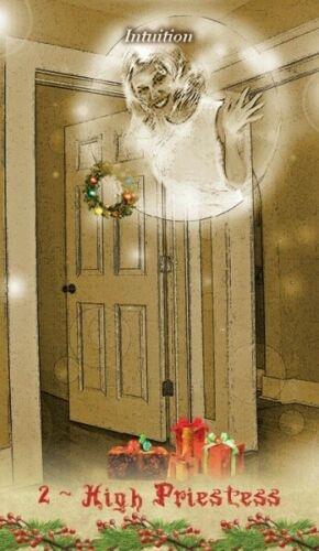 Kortos Taro Christmas Tarot Paveikslėlis 3 iš 9 310820217220