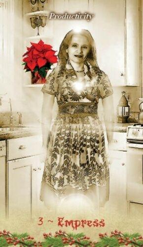 Kortos Taro Christmas Tarot Paveikslėlis 6 iš 9 310820217220