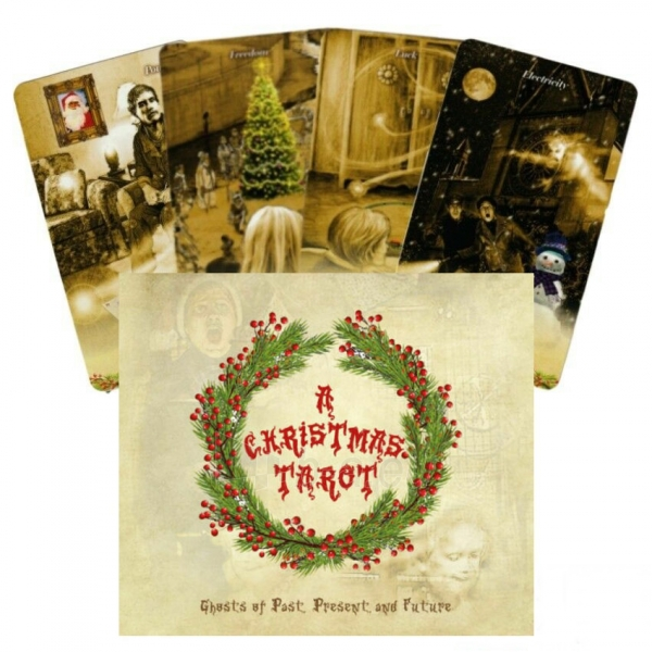 Kortos Taro Christmas Tarot Paveikslėlis 8 iš 9 310820217220