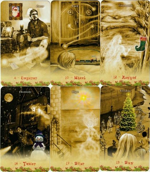 Kortos Taro Christmas Tarot Paveikslėlis 9 iš 9 310820217220