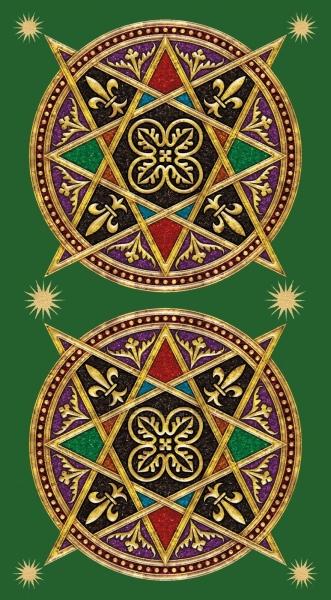 Kortos Taro Color Your Tarot Paveikslėlis 3 iš 8 310820160434