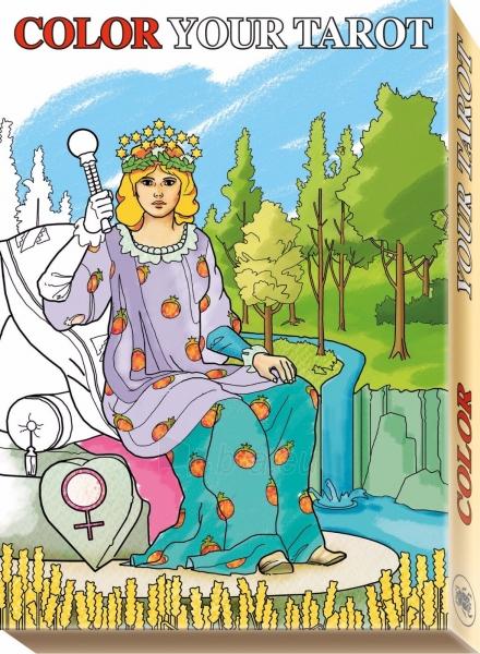 Kortos Taro Color Your Tarot Paveikslėlis 7 iš 8 310820160434