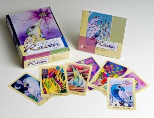 Kortos Taro Dream Raven Tarot Paveikslėlis 2 iš 10 310820217232