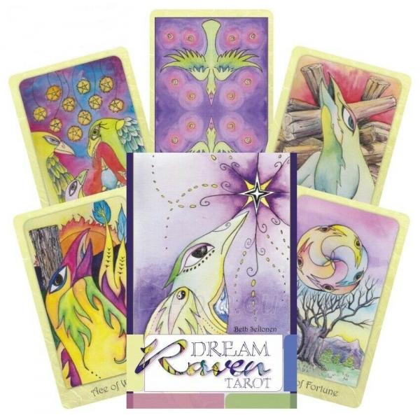 Kortos Taro Dream Raven Tarot Paveikslėlis 10 iš 10 310820217232