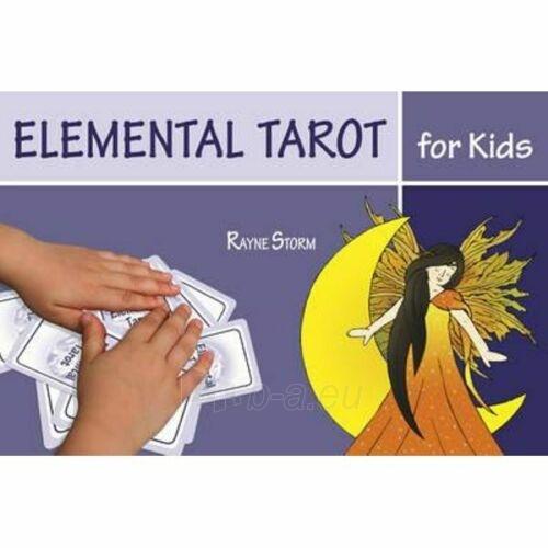 Kortos Taro Elemental Tarot for Kids Paveikslėlis 6 iš 7 310820217251