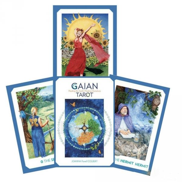 Kortos Taro Gaian Tarot Paveikslėlis 1 iš 7 310820217281