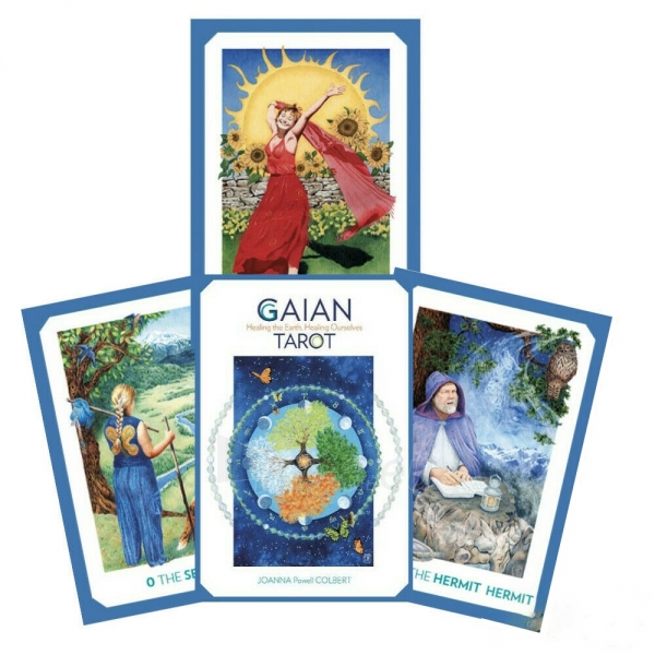 Kortos Taro Gaian Tarot Paveikslėlis 7 iš 7 310820217281