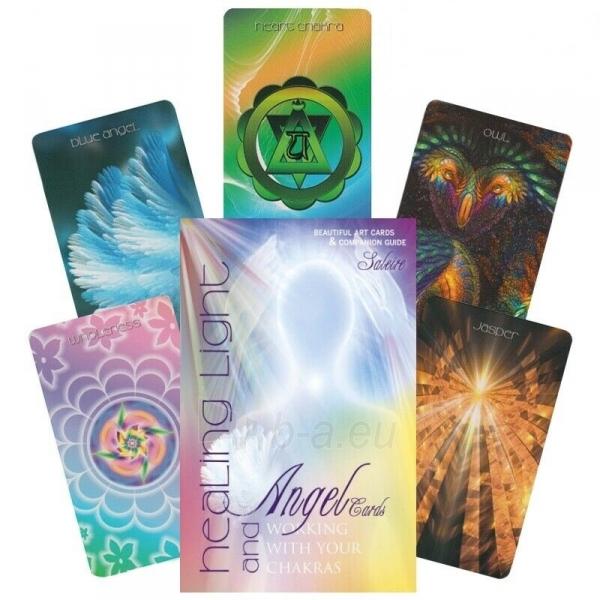 Kortos Taro Healing Light and Angel Cards Paveikslėlis 1 iš 10 310820217231
