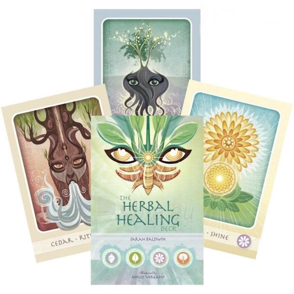 Kortos Taro Herbal Healing Deck Paveikslėlis 1 iš 7 310820217196