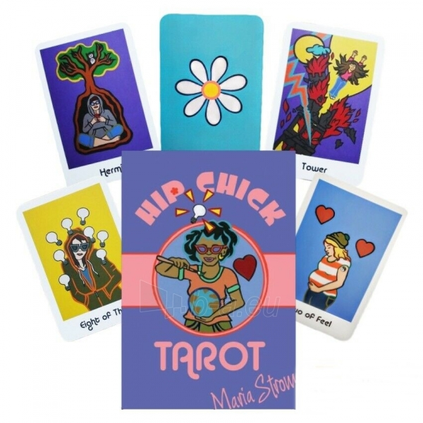 Kortos Taro Hip Chick Tarot Paveikslėlis 1 iš 6 310820217236