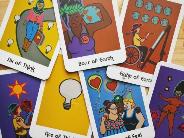 Kortos Taro Hip Chick Tarot Paveikslėlis 5 iš 6 310820217236