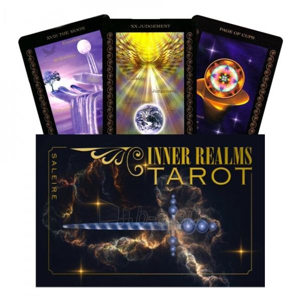 Kortos Taro Inner Realms Tarot Paveikslėlis 1 iš 5 310820217248